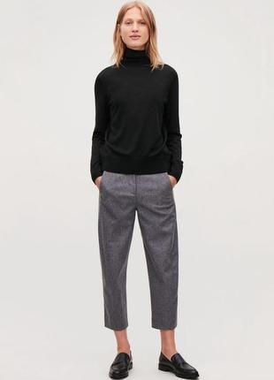 Обнова! брюки классика серые укороченные зауженные бренд mac