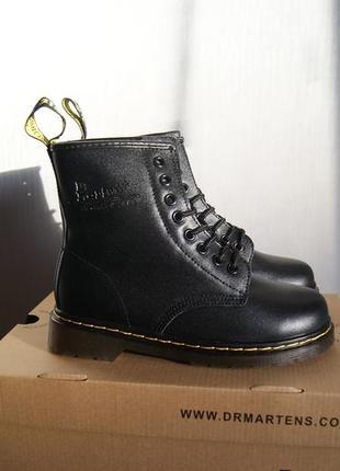 Женские ботинки dr martens  на меху