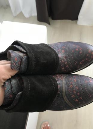 Ботинки 37 размер ( на 36,5 )