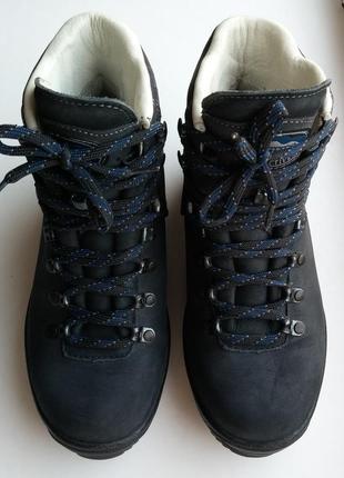 Трекинговые кожаные ботинки meindl, германия, 37-38 размер, 24,5 см.