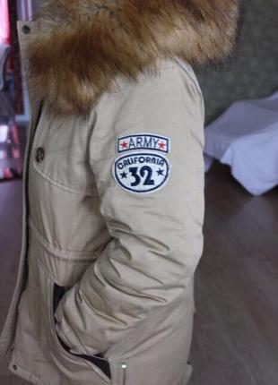 Парка куртка зимняя army