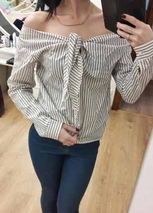 Блузка, рубашка h&m, размер s-m