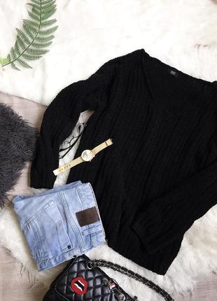 Крутой свитер оверсайз джемпер