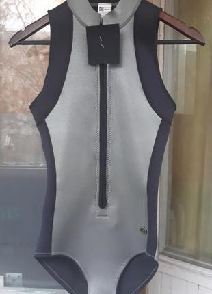 Гидрокостюм, гидрокупальник, купальник из неопрена, one piece surf suit4 фото