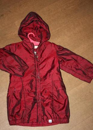 Пальто еврозима ф.h&m р-98/104 в хорошем состоянии