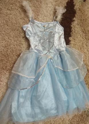 Карнавальное платье для девочки 8-10лет.