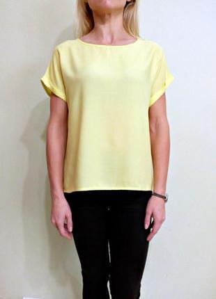 Легкая блуза свободного кроя