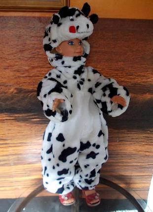 Маскарадный костюм коровы годика на 3