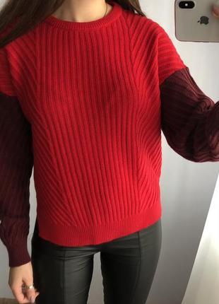 Шерстяной свитер m&s
