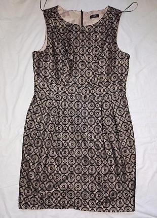 Шикарное миди платье,р-р 14,от f&f,сток