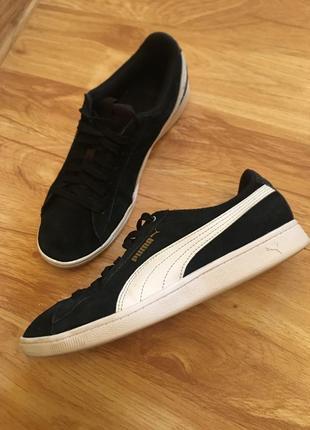 Шкіряні оригінальні кросівки puma