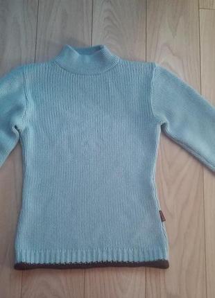 Тёплый свитер акрил шерсть.2