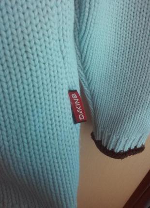 Тёплый свитер акрил шерсть.4
