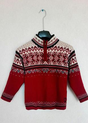 Шерстяной свитер из норвегии