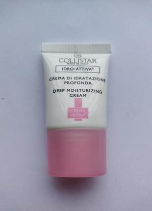 Collistar интенсивный увлажняющий крем для нормальной и сухой кожи
