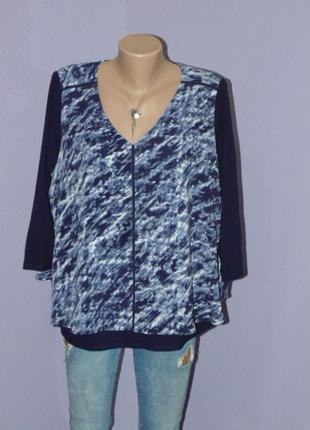 Красивая блузочка с разрезиком на спинке 16 размера