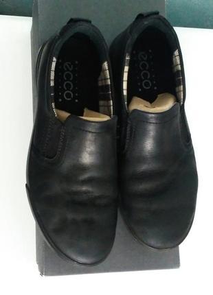 Туфли-слипоны школьные экко р. 36