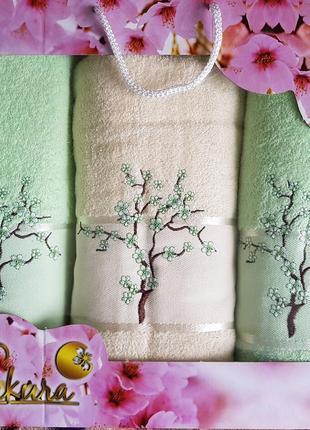 Набор полотенец sakura