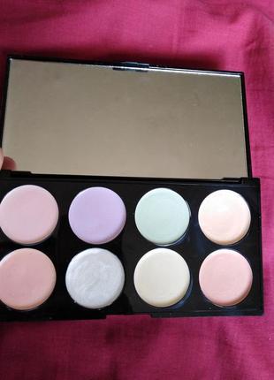 Палетка кремовых теней makeup revolution london