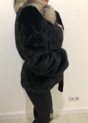 Норковая шуба saga furs