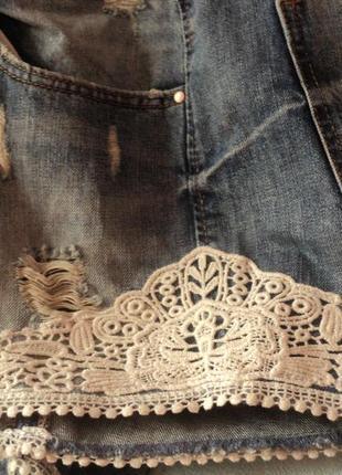 Красивые шорты с кружевом