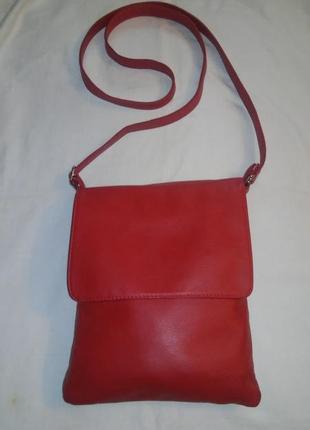 Италия! кожаная сумка (кожа натуральная)