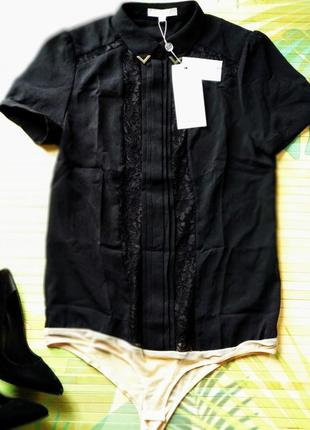 Рубашка боди с коротким рукавом