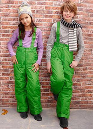 Полукомбинезон лыжные штаны унисекс рост 158-165 tchibo тсм