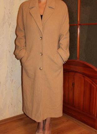 Пальто h&m шерсть, кашемир