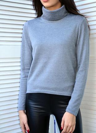 Серый свитер gloria jeans