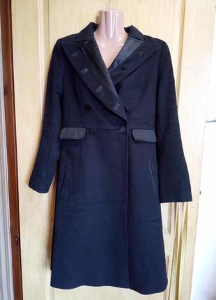 Элегантное дизайнерское шерстяное пальто stella mccartney
