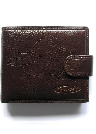 Кожаный кошелек бумажник портмоне, 100% натуральная кожа, есть доставка бесплатно