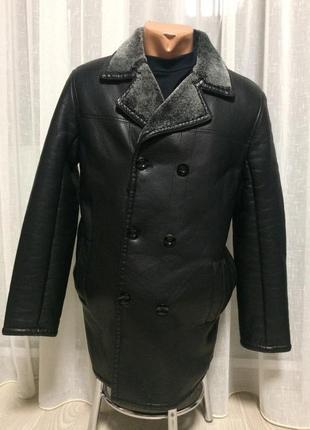 Зимння куртка (кожзаменитель)