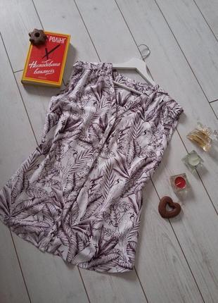 Старт огромных скидок! милая блуза в рисунок из хлопка...#00246