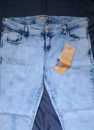 Стильные джинсы-скинни denim co