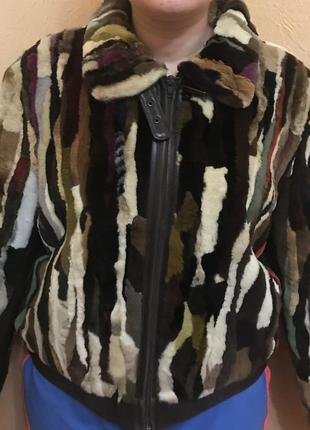 Меховая куртка натуральная