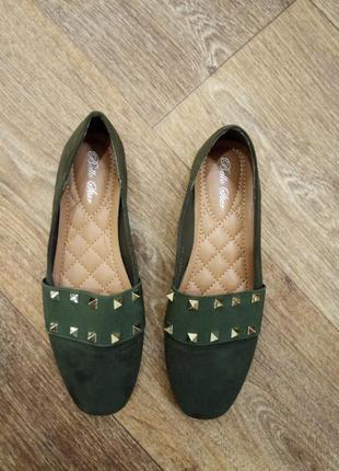 Туфли-макасины-балетки