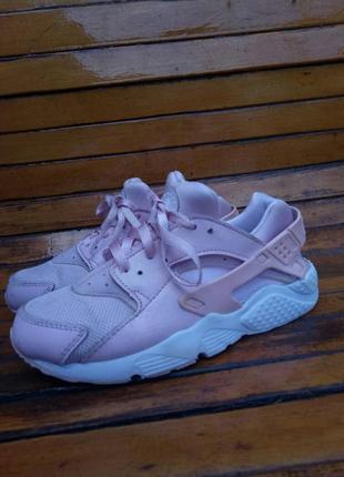 Кроссовки nike air huarache розовые оригинал