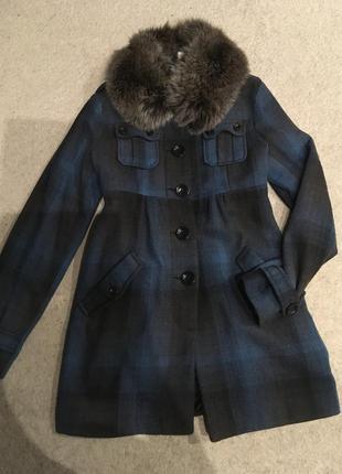 Пальто h&m 38 размер