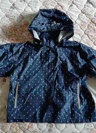 Куртка дождевик  девочке 5-6лет 110-116см рост