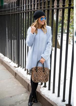 Стильне шерстяне пальто new look