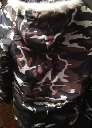 Тренд сезона- зимняя камуфляжная куртка2 фото