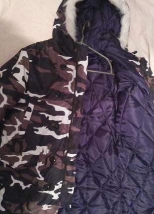 Тренд сезона- зимняя камуфляжная куртка3 фото