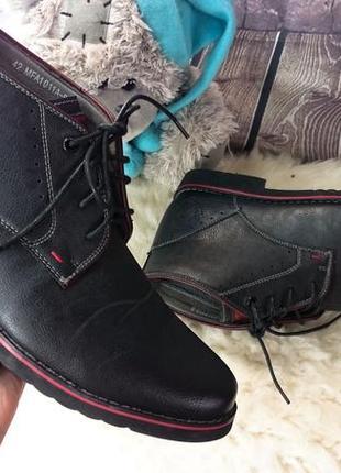 Мужские ботинки vapiano. экокожа