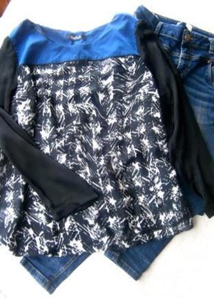 Шолковая блуза размер 50-52