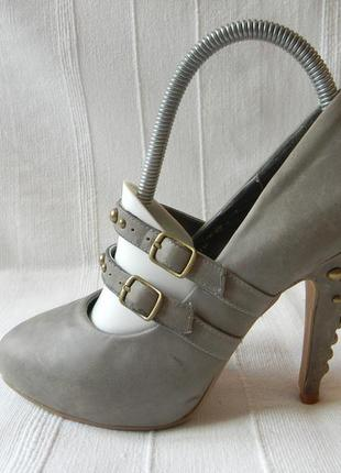 Кожаные туфли lady diamond р.37