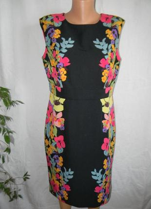 Красивое платье с цветочным принтом m&co