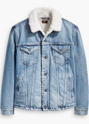 Шерпа (джинсовая куртка) levis