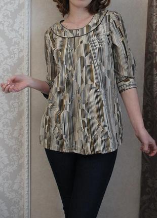 Блуза туника george геометрия