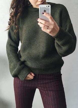 Шикарный свитер свободного кроя оверсайз